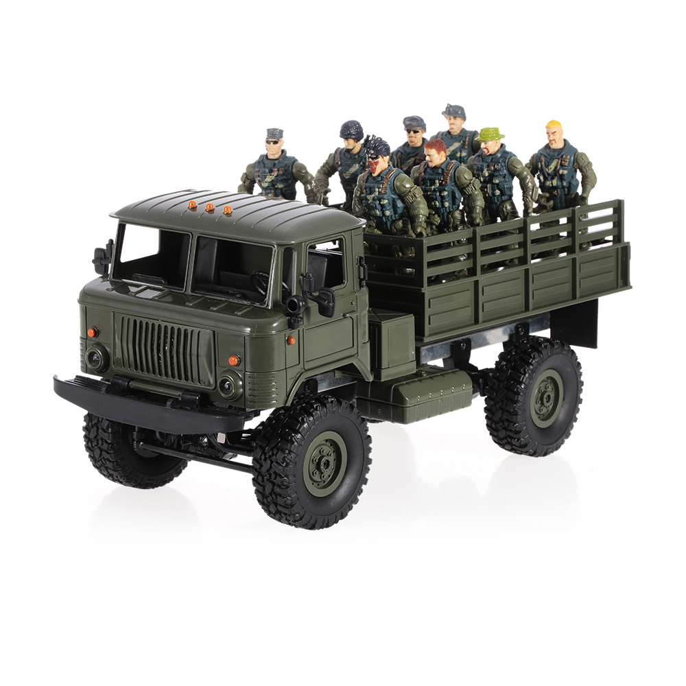 Only $36.99 For WPL B-24 1/16 2.4GHz Military Truck with code WPLJ6