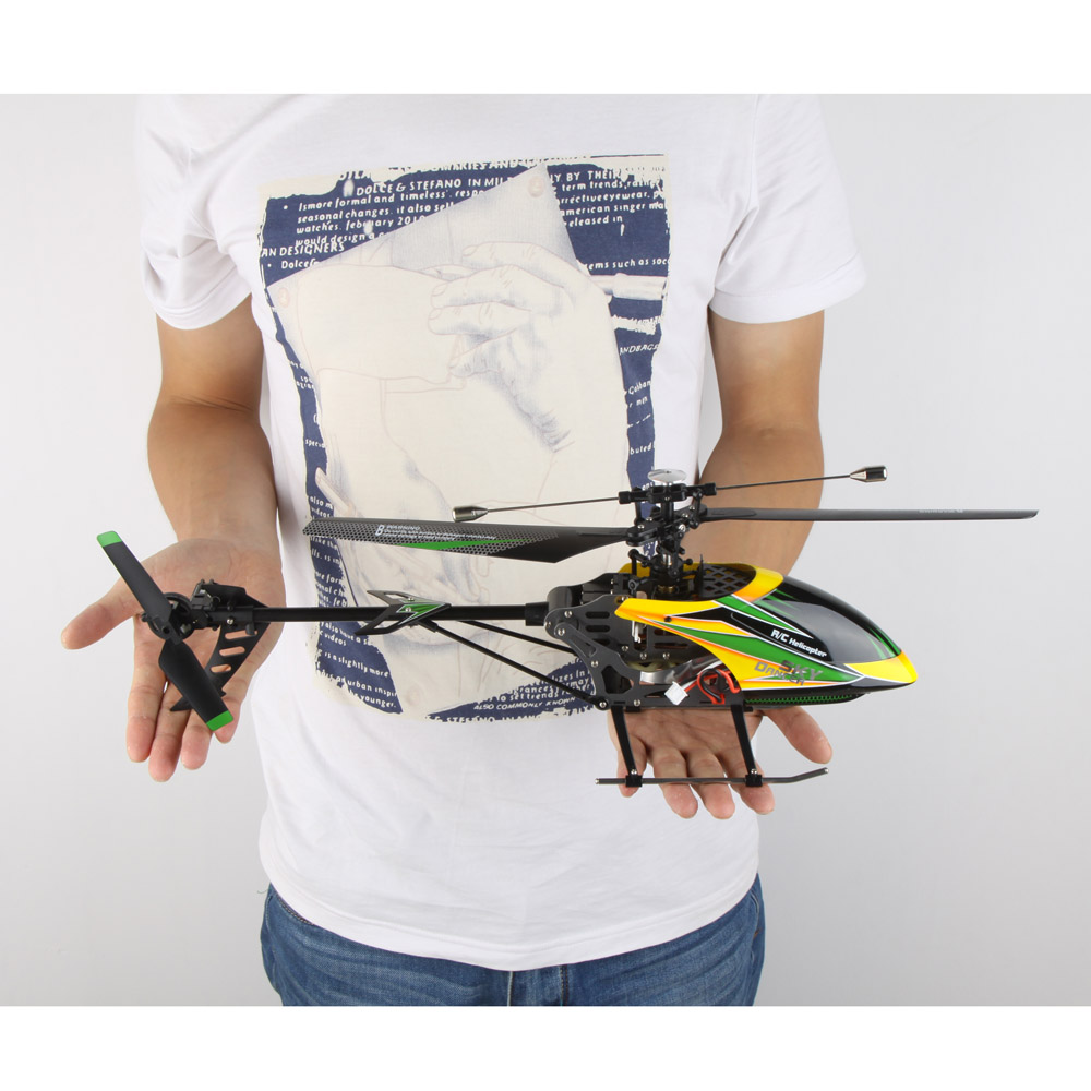 Get 10$ off  Original Wltoys  Brushless Upgrade Version Perfect 4CH Single Blade RC Helicopter