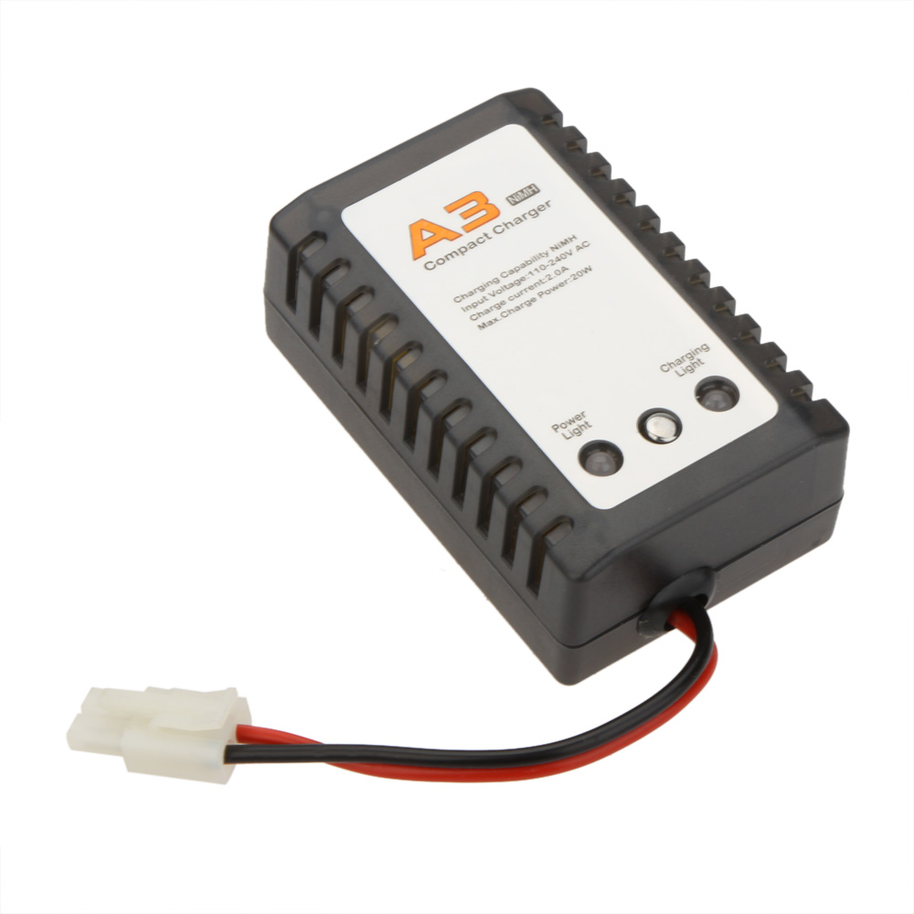 a3 nimh batterie chargeur compact max 20w pour batterie rc. Black Bedroom Furniture Sets. Home Design Ideas