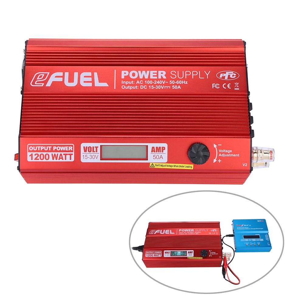 Original skyrc efuel 1200w 50a ac 100 240v a dc 15 30v - Cargador de baterias ...