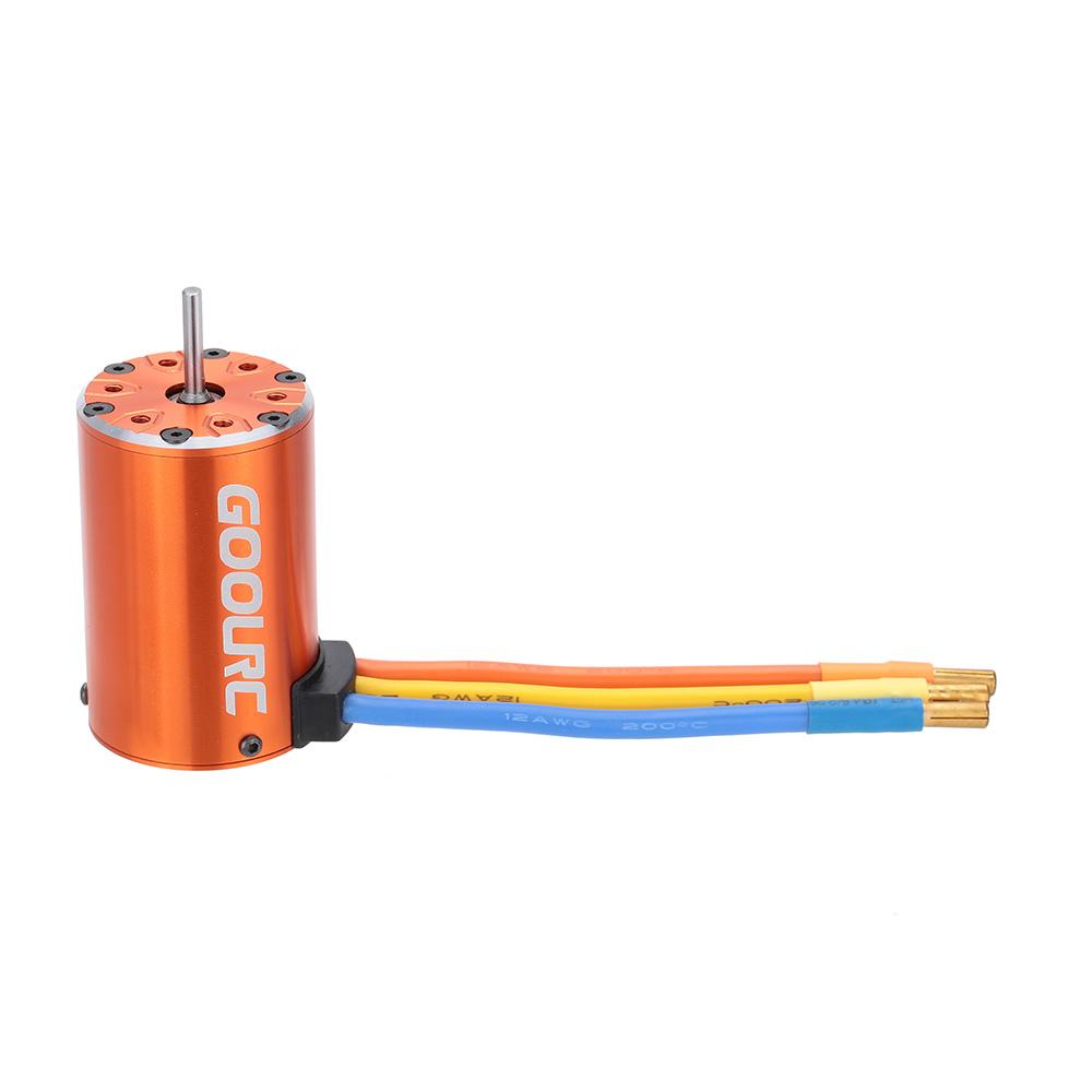 Goolrc 550 4300kv 4 Poles Sensorless Brushless Motor For 1