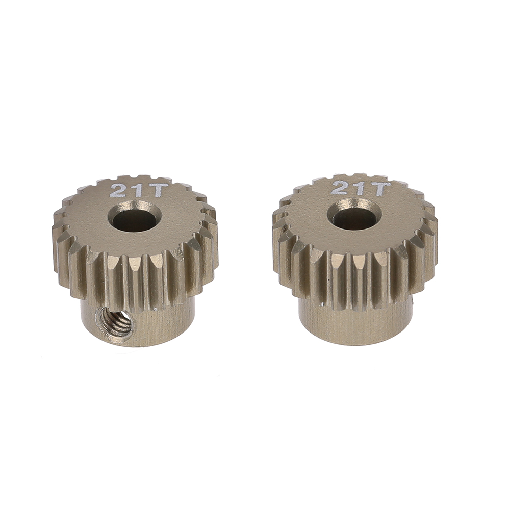 Goolrc 2pcs 48dp 21t Pinion Motor Gear For 1 10 Rc