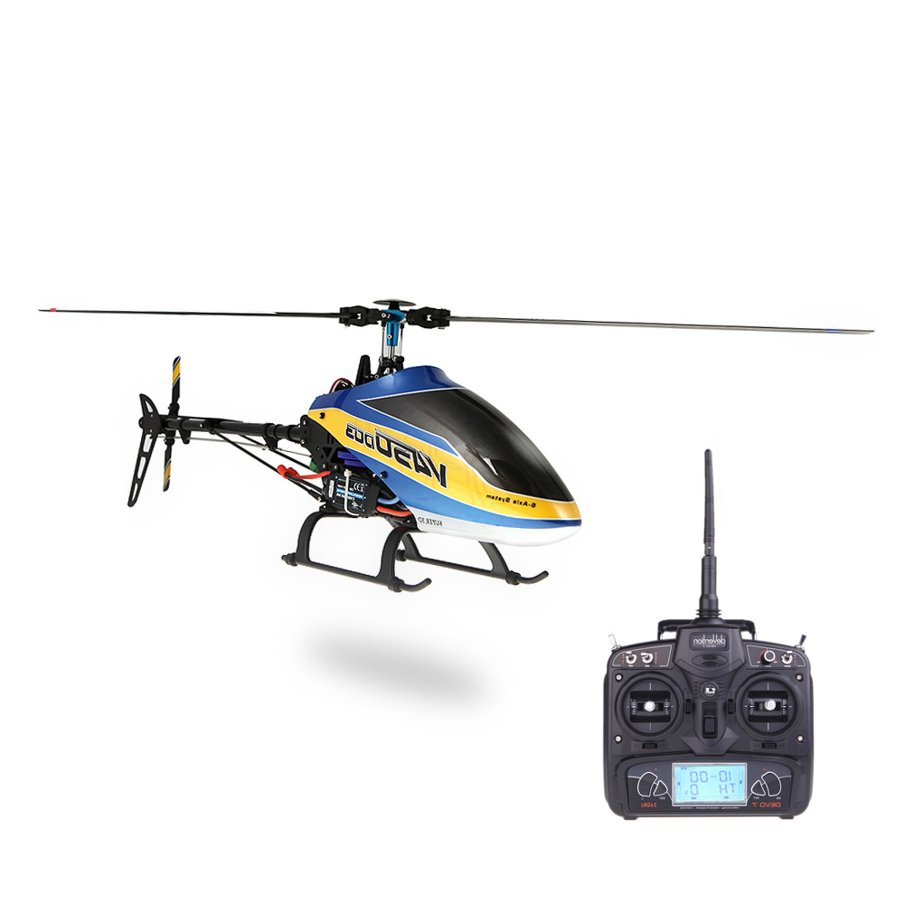 Get 60$ off  Walkera  6CH 450 RC FBL Helicopter w/ DEVO 7 Transmitter