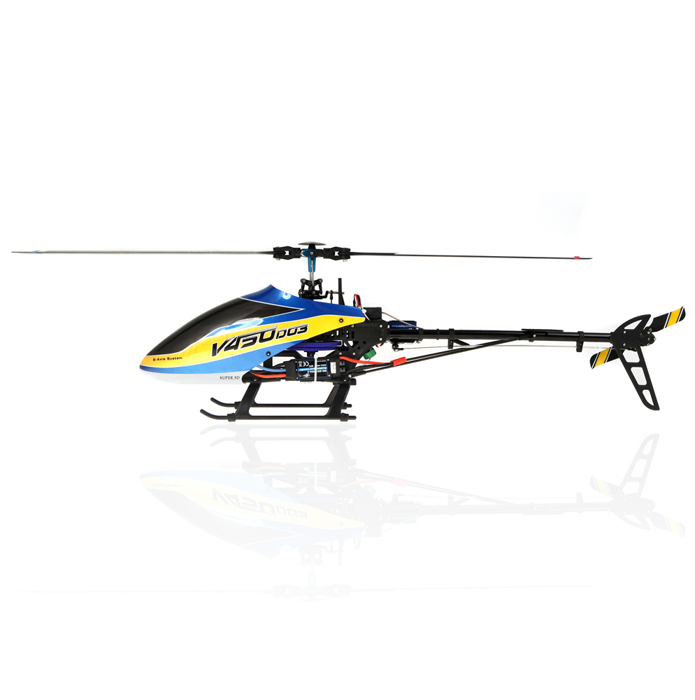 Only $229.99 For Walkera V450D03 6CH 450 RC FBL Helicopter w/ DEVO 7 Transmitter with code EDM631