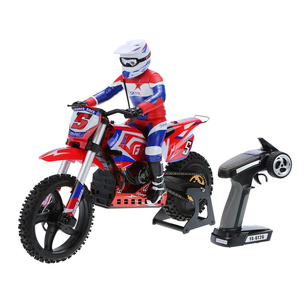 rc motorcycle bike dirt electric scale brushless skyrc sr5 super toys rtr stabilizing elektrische motorrad spielzeug rcmoment skala does