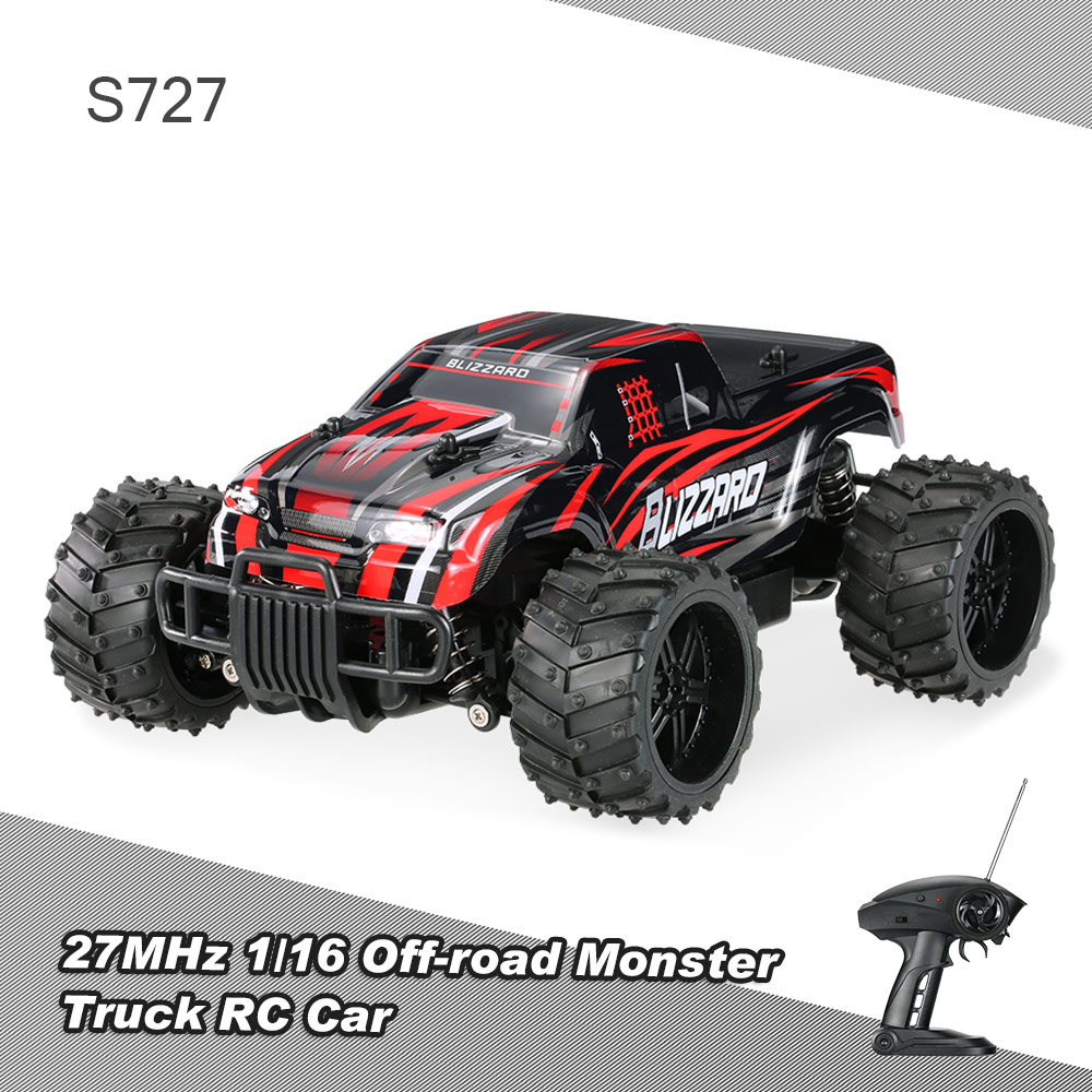 red us pxtoys s727 27mhz 1 16 20km h high speed off road. Black Bedroom Furniture Sets. Home Design Ideas