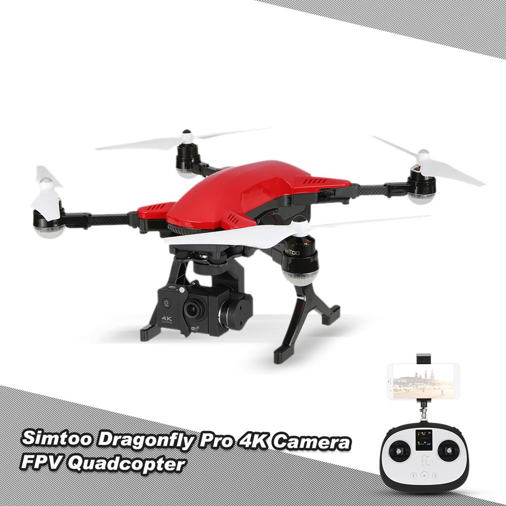 Get 15$ off SIMTOO Dragonfly Pro 16MP Camera 4K Brushless Wifi FPV 3-Axis Gimbal Professional Aerial Photography GPS Drone
