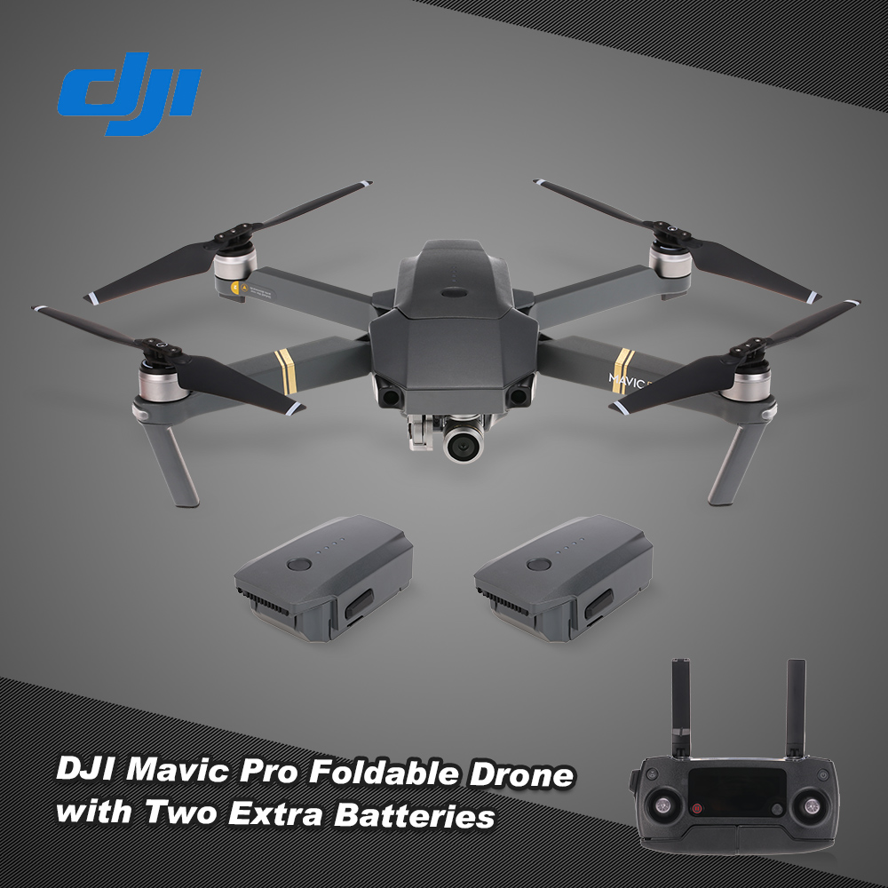 eu dji mavic pro 4k fpv foldable rc drone quadcopter fly more