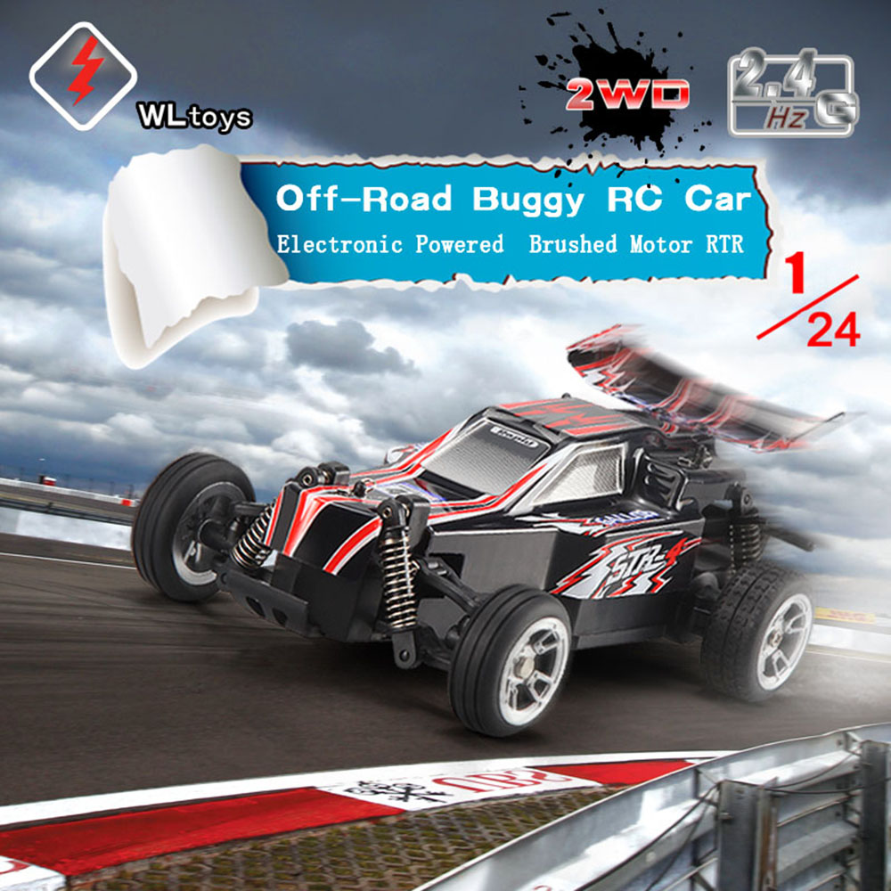 G Electric Original Wltoys L333 1 24 24g Electric Brushed 2wd Rtr Rc Car Off