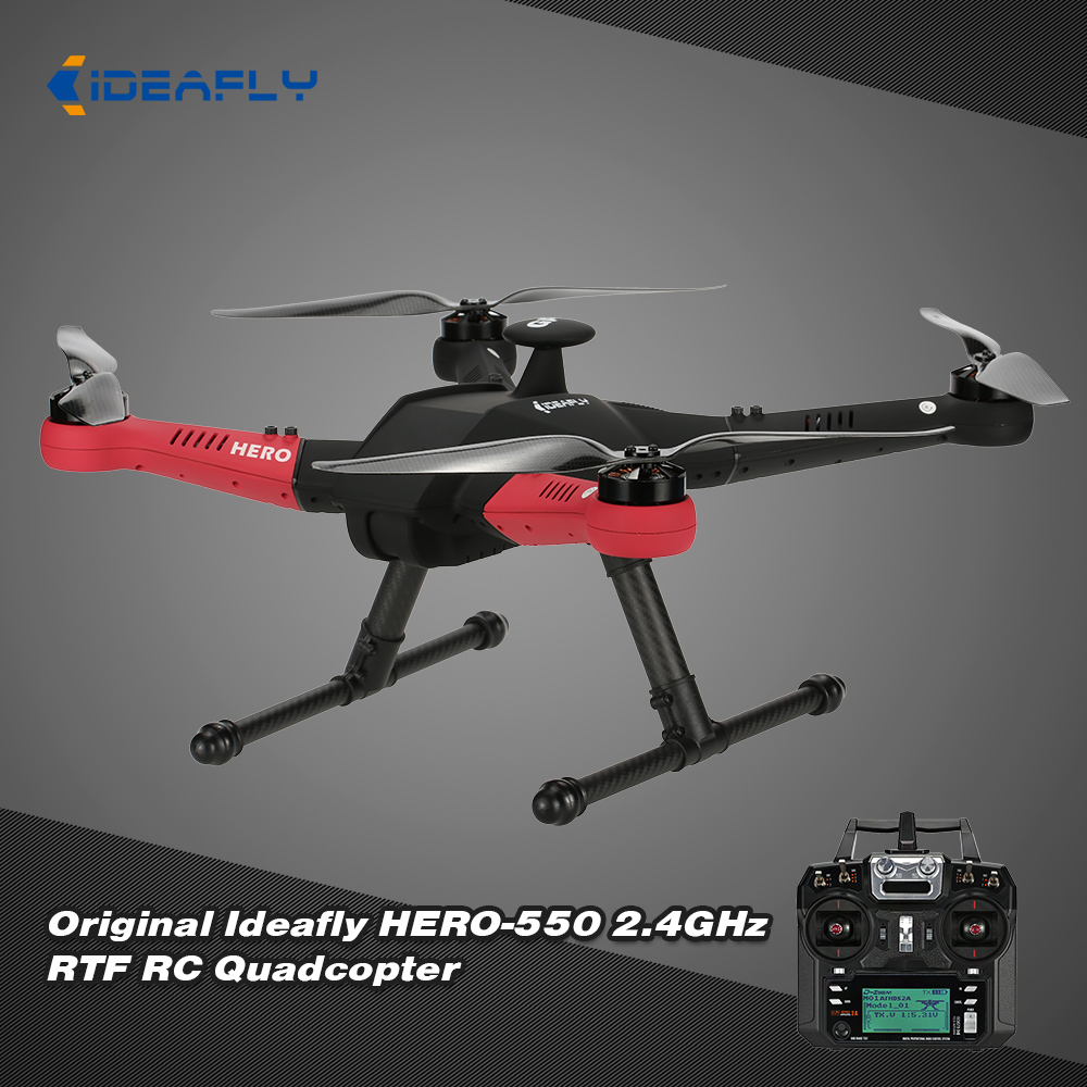 Get 50$ off  Original Ideafly HERO-550 2.4GHz 6 Axis Gyro RTF RC Quadcopter with One-key Return POI Mode Function