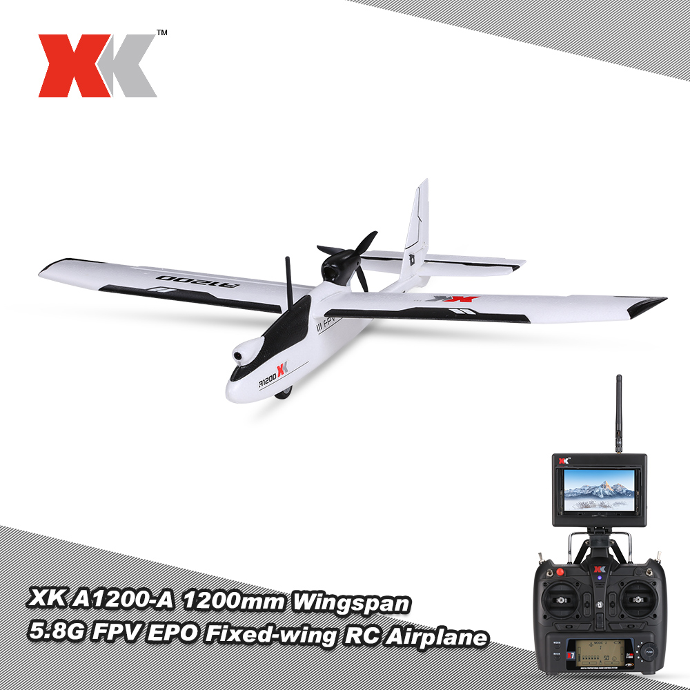 Only $215 For XK A1200 1200mm Fixed-wing RC Airplane with code EDM150