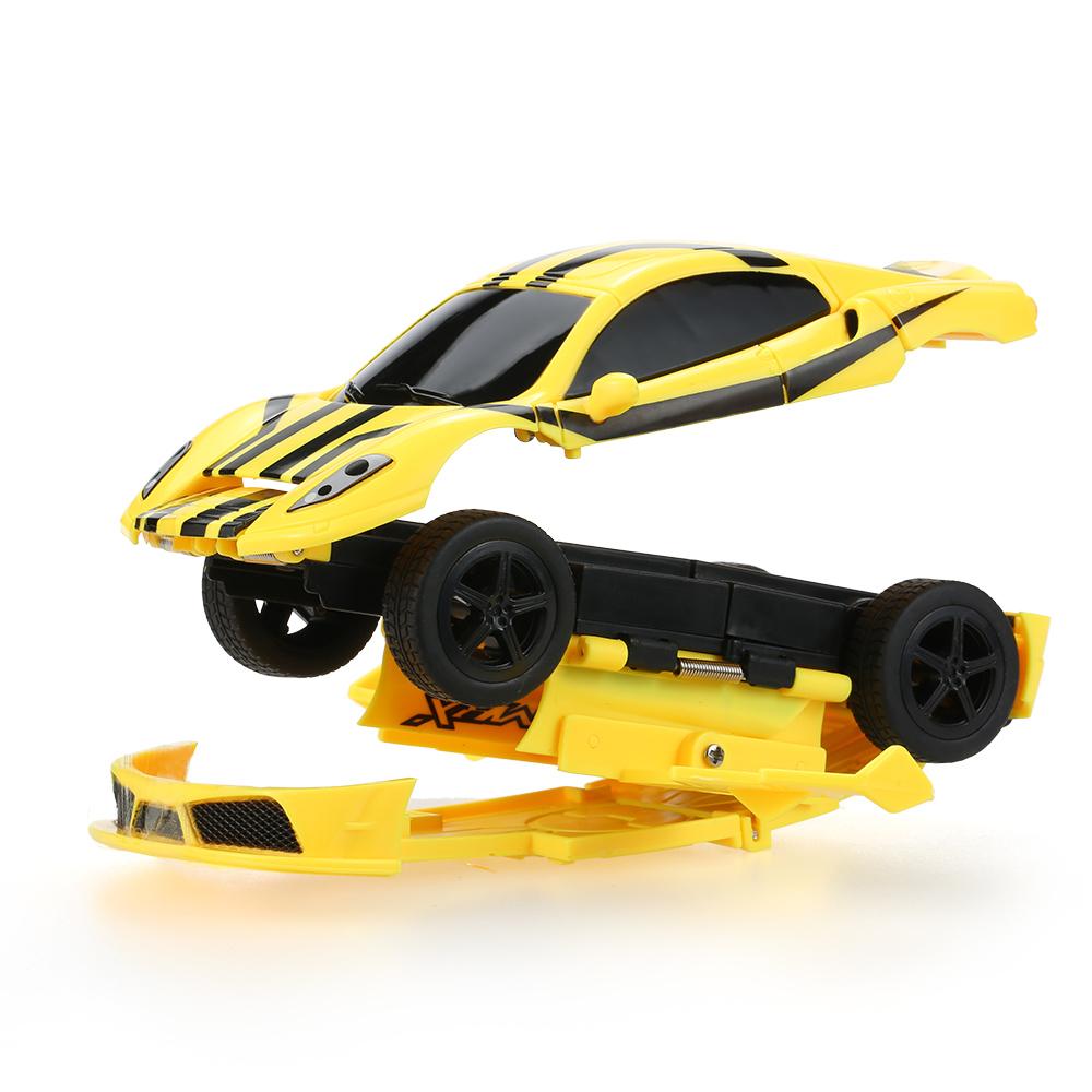 erstellen sie spielzeug mini blinkende 2 in 1 elektro roboter rc auto 40mhz. Black Bedroom Furniture Sets. Home Design Ideas