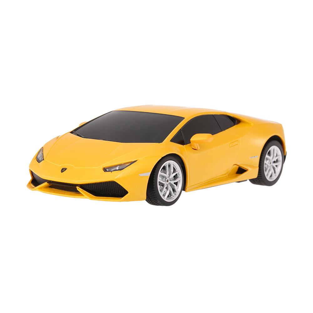 yellow rastar 71500 27mhz r c 1 24 lamborghini huracan lp 610 4 radio remote control model car. Black Bedroom Furniture Sets. Home Design Ideas