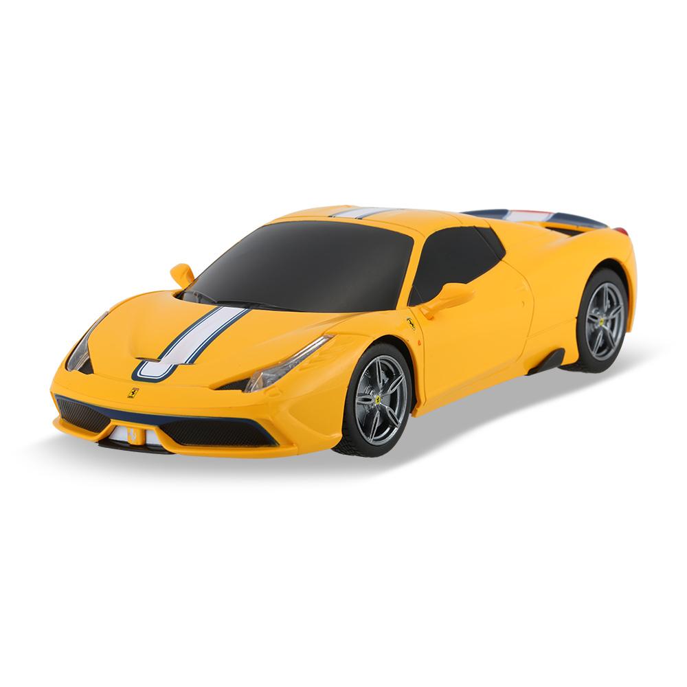yellow Rastar 71900 1/24 Ferrari 458 Speciale A Drift RC Car - RcMoment.com