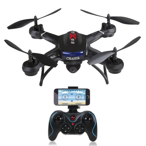 Holy Stone F181W Wifi FPV Drone с широкоугольной HD-камерой 720P Видеоканал RC Quadcopter с удержанием высоты, функцией датчика силы тяжести, RTF и легким лететь для начинающих, совместимым с гарнитурой VR