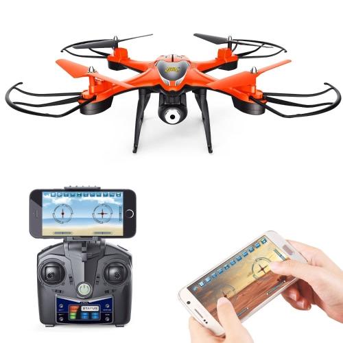 Holy Stone HS130 Wifi FPV Drone с регулируемой HD-видеокамерой RC Quadcopter с контролем высоты, контролем приложений, гарнитурой 3D VR, RTF и легкостью для новичков и экспертов, цветной красный