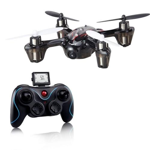 Каменный F180C Mini RC Quadcopter Drone с камерой 2.4GHz 6-осевой гироскопической бонусной батареей и 8 лезвиями