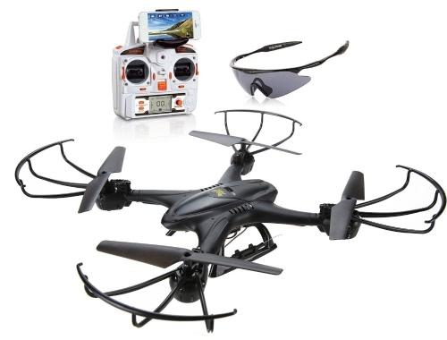 Holy Stone X400C FPV RC Quadcopter Drone с Wi-Fi-камерой Live Video One Key Return Функция Безголовый режим 2.4GHz 4-канальный 6-осевой гироскоп RTF Левый и правый режим