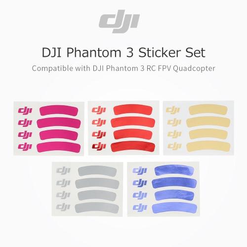 DJI Phantom 3 Spare Part NO.43 Sticker Set for DJI Phantom 3 Quadcopter