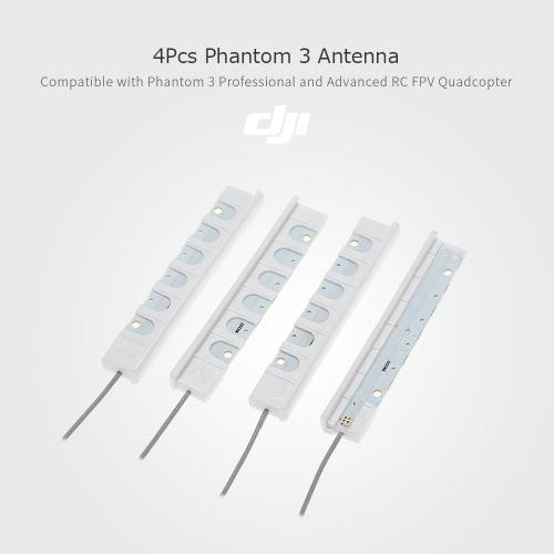 4Pcs  DJI Phantom 3 Antenna Part 3 for Phantom 3 Professional and Advanced RC FPV Quadcopter
