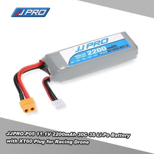 Original JJR/C JJPRO 11.1V 2200mAh 30C 3S Li-Po Battery XT60 Plug for P175 P200 QAV180 200 QAV250 ZMR250 H280 RC Quadcopter Drone
