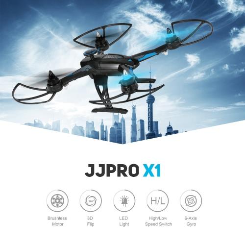 Original JJRC JJPRO X1 2.4G 4CH 6-Axis RC Quadcopter Brushless Motor RTF Drone