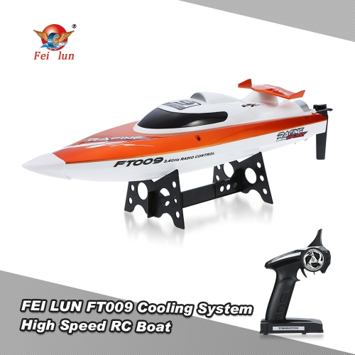 Feilun FT009 2.4G 4CH Water Cooling System Self-righting 30km/h High Speed Racing RC Boat